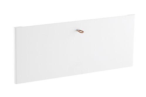 Передняя панель decor на 2 рельса, белая