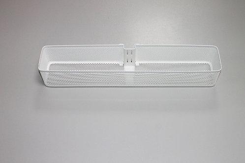 Малая корзинка Mesh на направляющую, белая