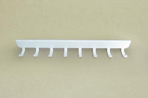Боковые крючки (8) на кронштейн 320мм, белые