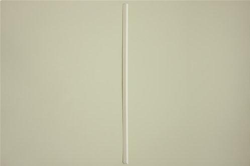 Заглушка Левая для кронштейна 516 мм, белая