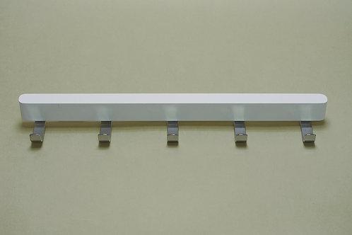 Боковые крючки 434 мм, белый декор