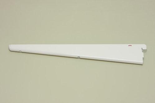 Кронштейн для меламиновой полки 370 мм, белый