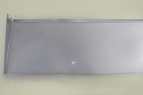 Полка-лоток 900х260 мм, платина