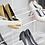 Thumbnail: Обувница выдвижная трехъярусная 605 мм, белая