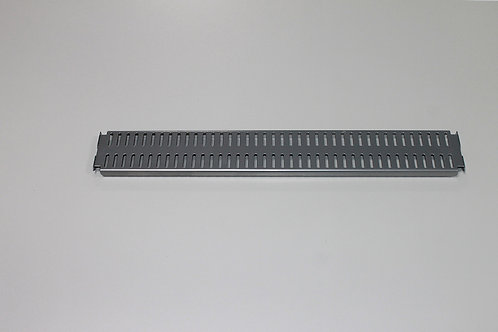 Перфорированная панель 450х62 мм, платина