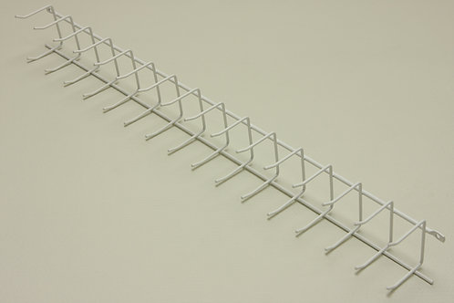 Вешалка для галстуков 415 мм, белая