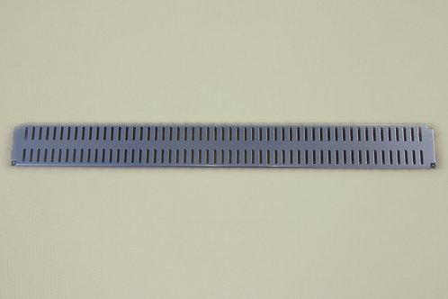 Перфорированная панель 600х62 мм, платина