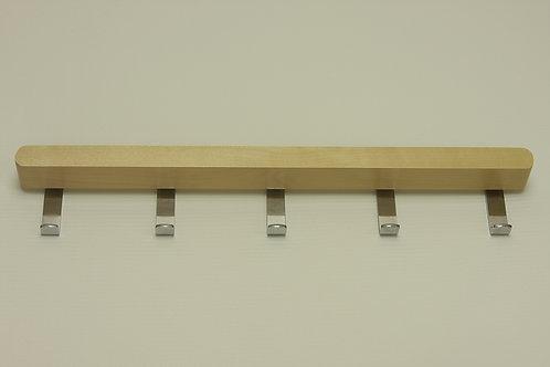 Крючки боковые 434 мм, декор береза