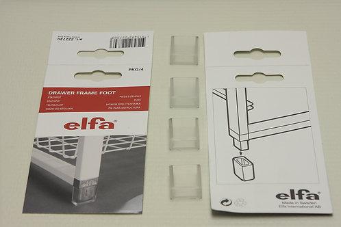 Ножки для стеллажа 4 шт/уп, прозрачные