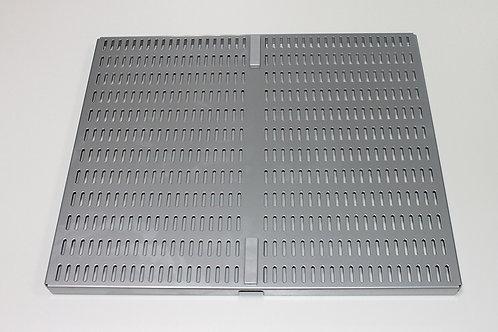 Перф. панель для направляющей 460х389 мм, платина