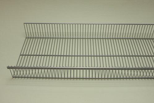 Полка-корзина 305х900 мм, платина