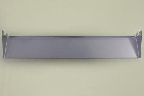Полка-лоток 450х110 мм, платина