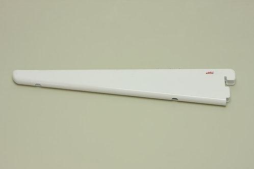 Кронштейн для меламиновой полки 270 мм, белый