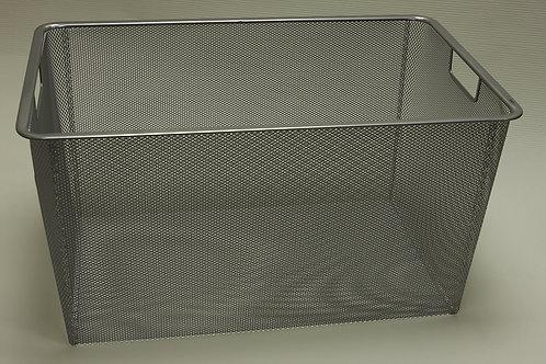 Корзина Mesh на 3 рельса 330х530 мм, платина