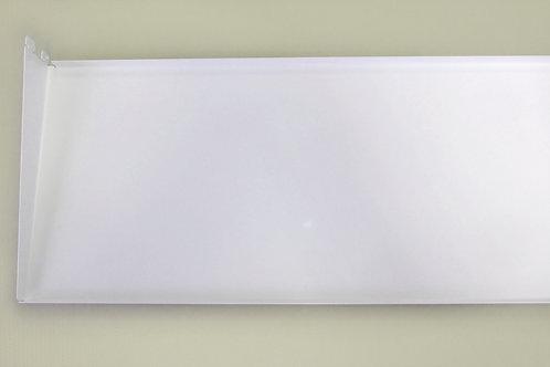 Полка-лоток 900х260 мм, белая