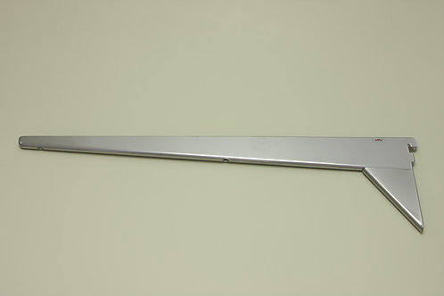 Усиленный кронштейн для меламиновой полки 570 мм, платина