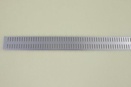 Перфорированная панель 900х62 мм, платина