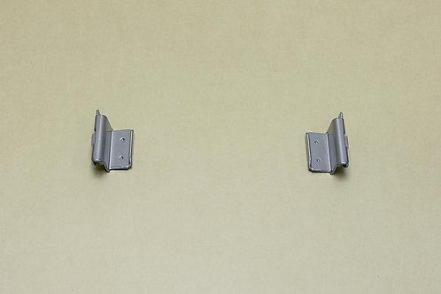 Крепеж рельса к направляющим 2 шт/уп, платина