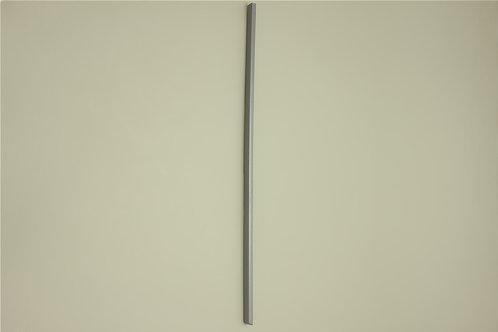 Заглушка Левая для кронштейна 516 мм, платина