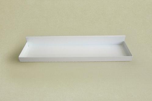 Боковой лоток на кронштейн 320мм, белый