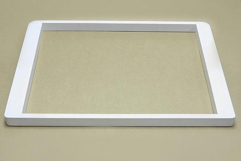 Рамка выдвижная дер. под корзину, 605 мм, белая