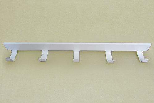 Боковые крючки (5) на кронштейн 420мм, белые