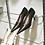 Thumbnail: Полка для обуви одинарная 605 мм, платина