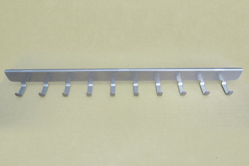 Боковые крючки (10) на кронштейн 420мм,платина