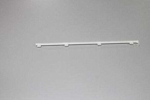 Декор. заглушка для кронштейна 30 см, центральная, белая