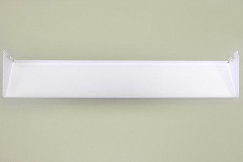 Полка-лоток 600х110 мм, белая