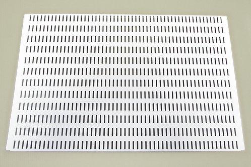 Перфорированная панель 600х382 мм, белая