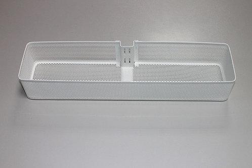 Средняя корзинка Mesh на направляющую, белая