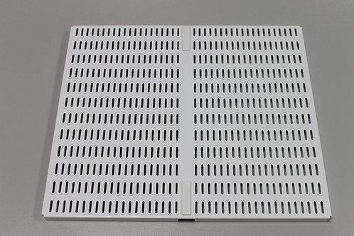 Перф. панель для направляющей 460х389 мм, белая