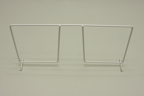 Разделитель проволочной полки 405 мм, белый