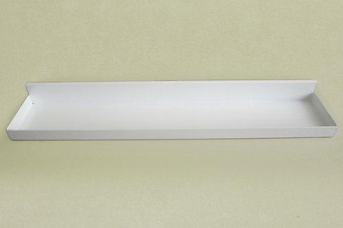 Боковой лоток на кронштейн 420мм, белый