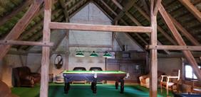 bilard w stodole