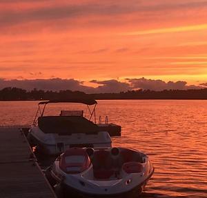 Cottage Docks Sunset.PNG