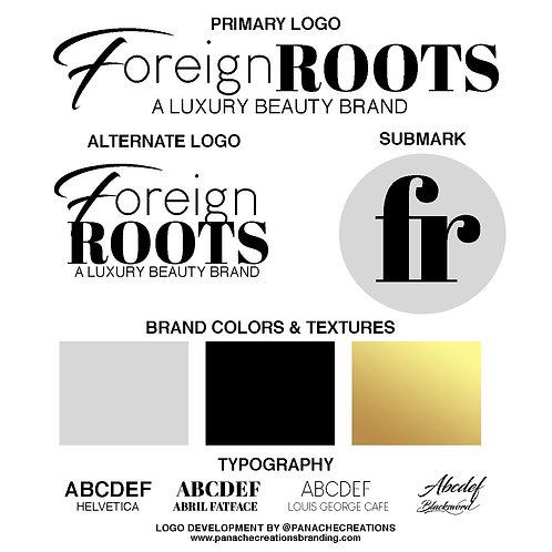 Text Based Logo Development