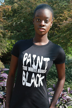 Paint the White House Black Tee - Women