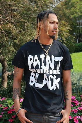Paint the White House Black Tee - Men