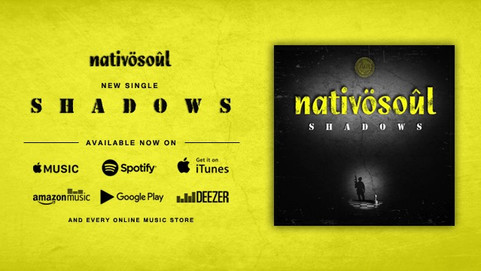 Our new single 'Shadows' is available in all digital platforms!✌️