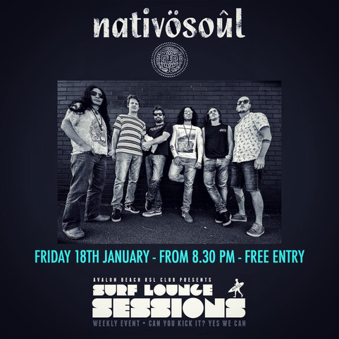 NWXT GIG JAN 18TH @SURF LOUNGE SESSIONS
