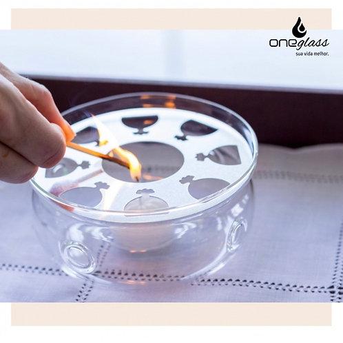 Aquecedor de vidro para chaleira 600ml OneGlass
