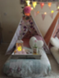 traditional tepee