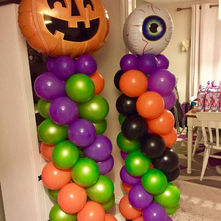 Stargazers Halloween Party Column Balloo