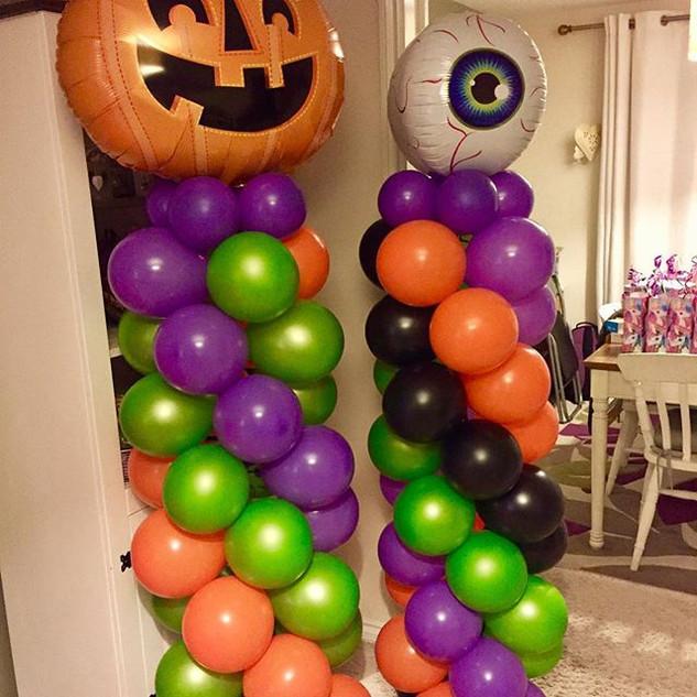 Stargazers Halloween Party Column Balloo