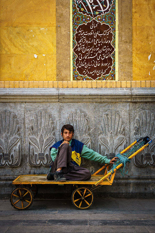 Boy in Bazar