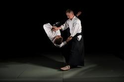 Тренировки по айкидо - тенчинаге