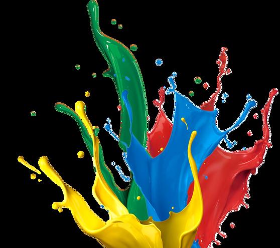 Splash of colours