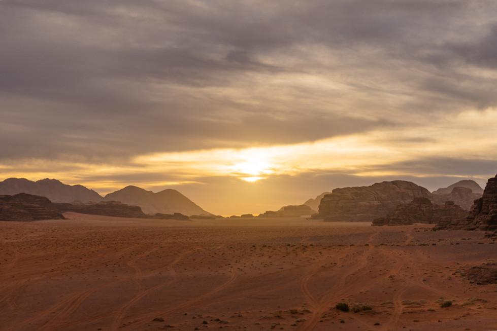 Wadi Rum trails